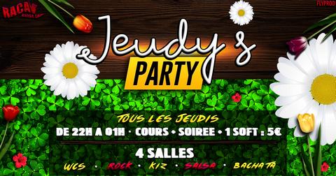 JEUDY'S PARTY » Annecy «ouvert toute l'année tous les jeudis»