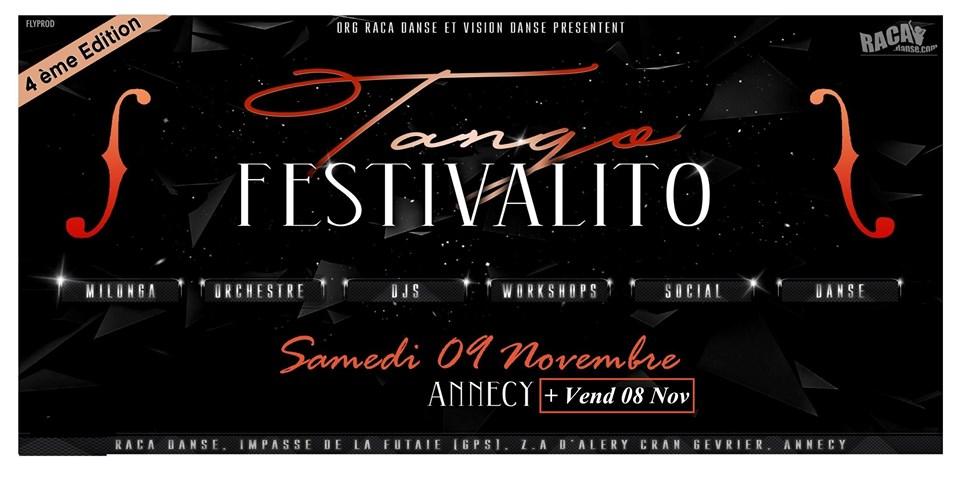 ANNECY TANGO Festivalito – 4ème Edition